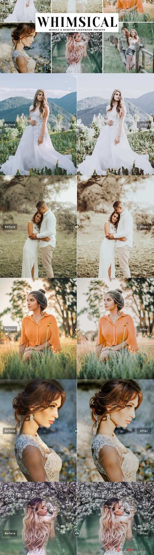 Whimsical Lightroom Presets Pack - 4045956