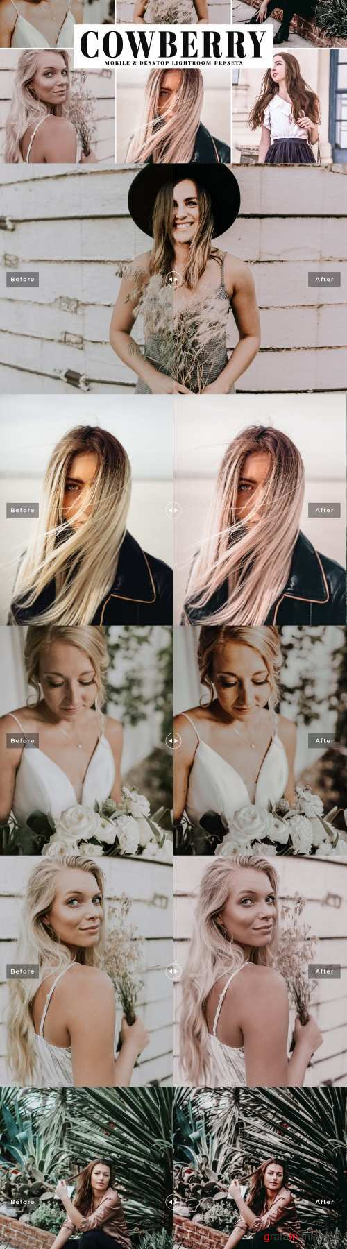 Cowberry Lightroom Presets Pack - 4045461
