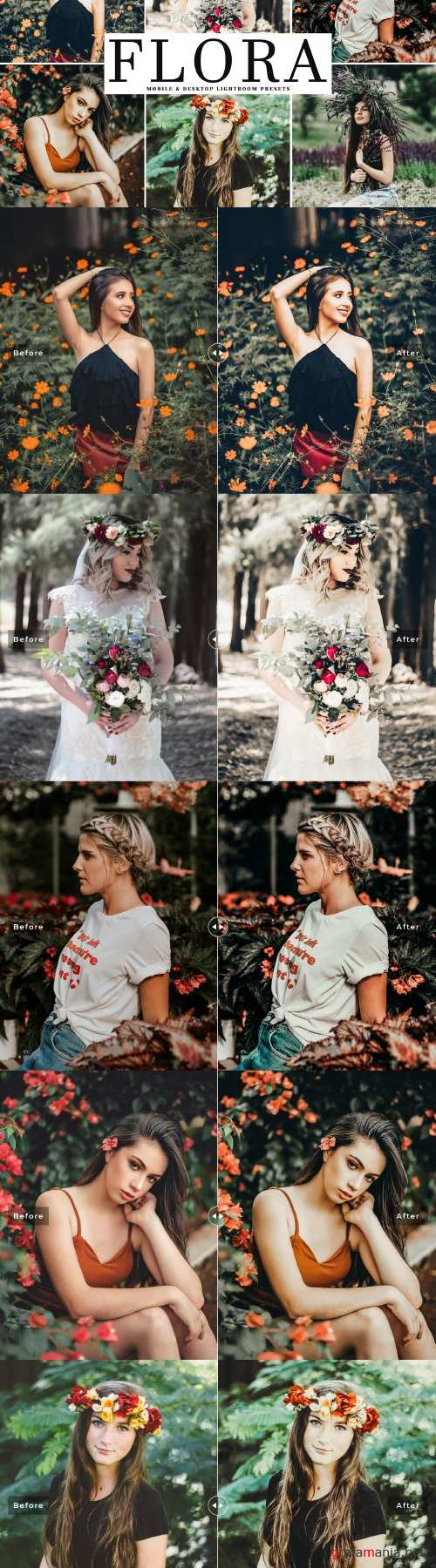 Flora Lightroom Presets Pack - 4048685
