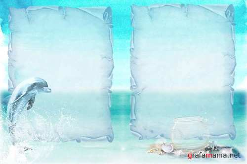 Dolphins Backgrounds with Free Clipart - 327298