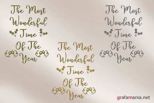 Christmas Quotes Mega Bundle with FREE Clipart - 332819