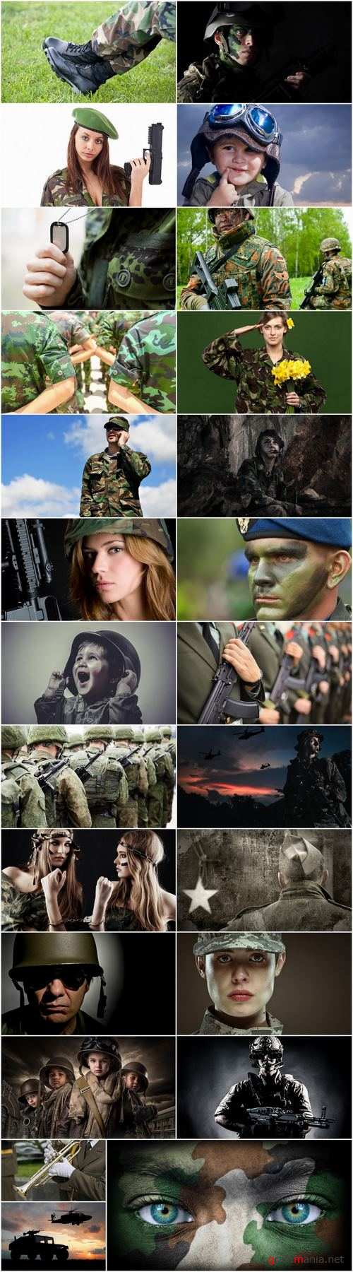 People in military uniform 25 HQ Jpeg