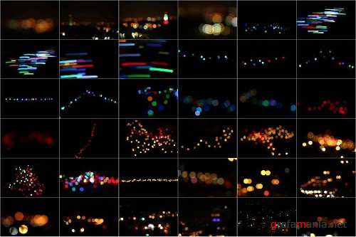 80 Life Style Bokeh Pack 02 lights Effect Photo Overlays 345969