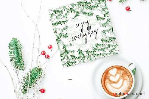 Christmas Watercolor cards collection 01 - 345507