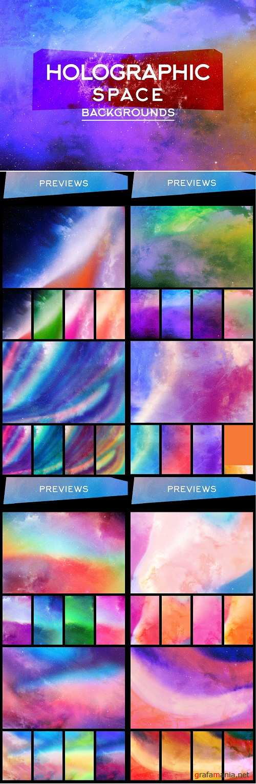 Holographic Space Backgrounds - 4043896