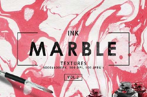 Only Ink & Marble Backgrounds Bundle - 2352589