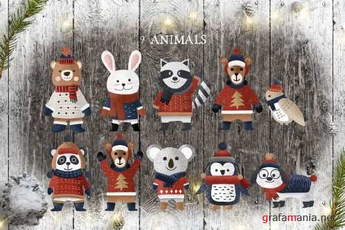 Christmas Things Clipart - 4111826
