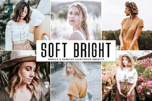 Soft Bright Lightroom Presets Pack