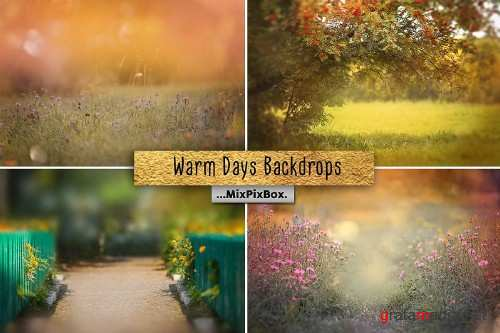 Warm Days Backdrop 4112376