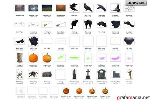 Halloween Photo Overlays 4112029