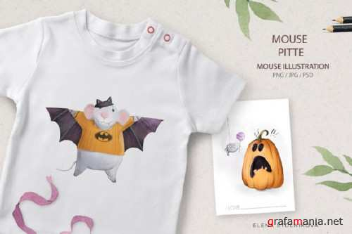 Mouse Pitte / Halloween