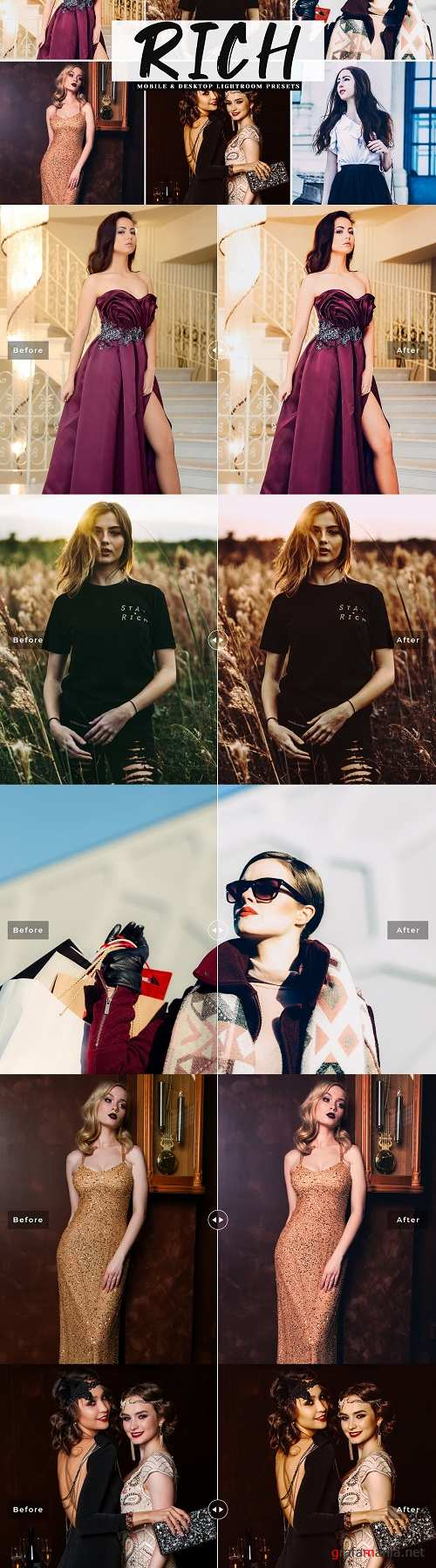 Rich Lightroom Presets Collection - 4068073