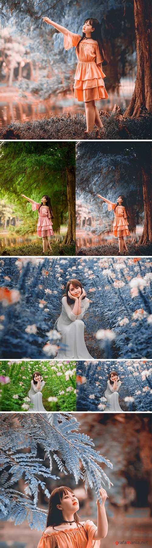 Cinetune   cinematic color grading Effects Photoshop Action 24460869