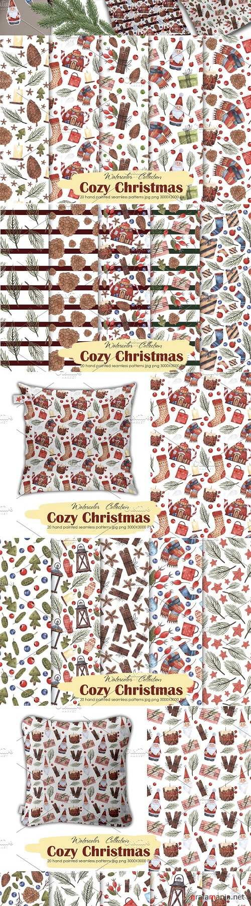 Cozy Christmas patterns - 4144559