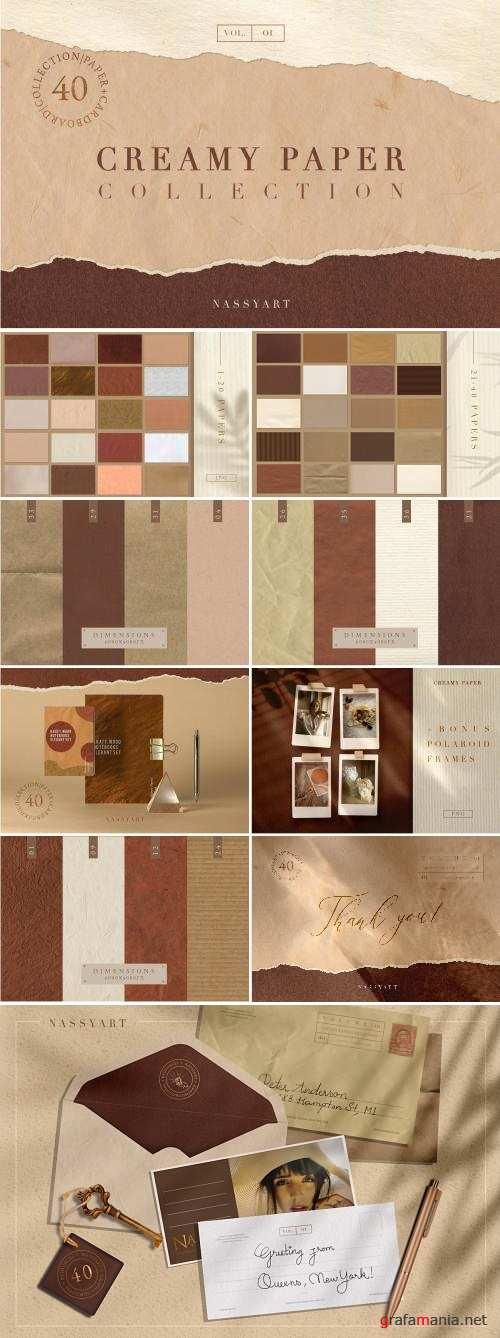 Creamy Paper Collection - 4133578