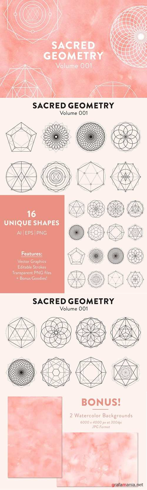 Sacred Geometry Vectors Volume 001 4134545