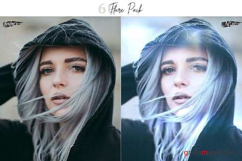60 Flare Pack 02 lights Effect Photo Overlays 361626