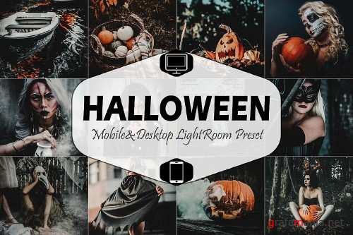 Halloween Mobile & Desktop Lightroom Presets - 372796