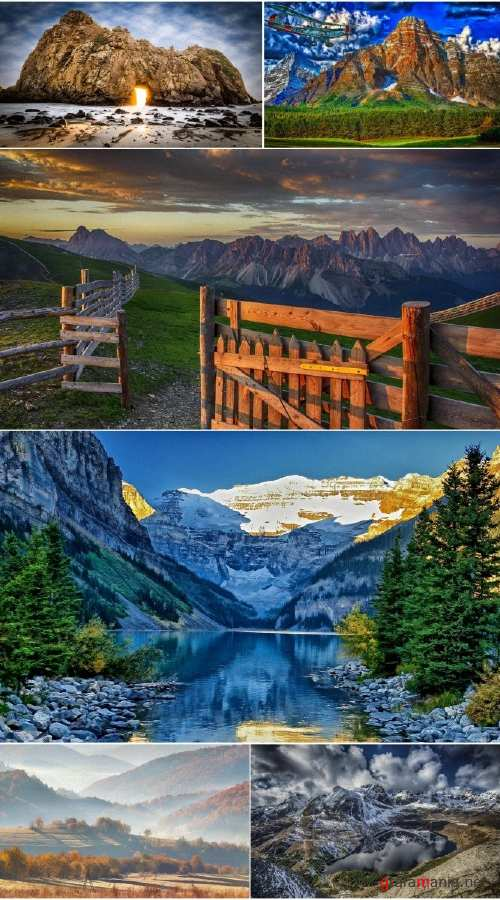 Landscapes Mountains (Pack 66)