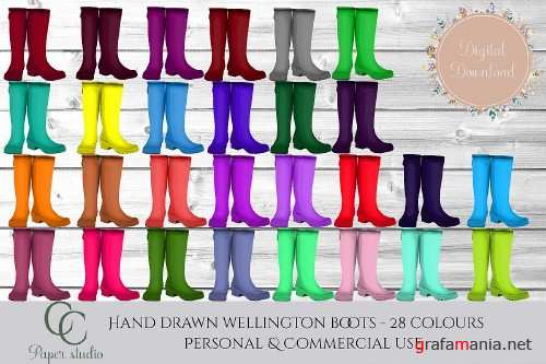 Rain boots in 28 colours - 373368