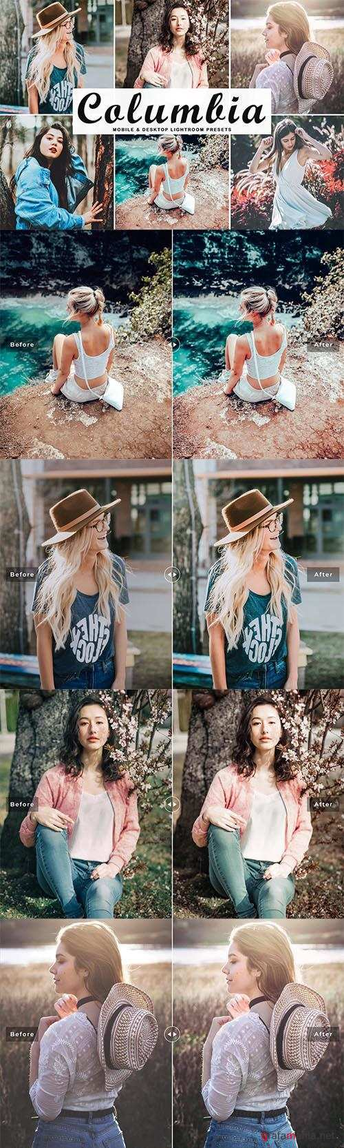 Columbia Lightroom Presets Pack - Mobile & Desktop
