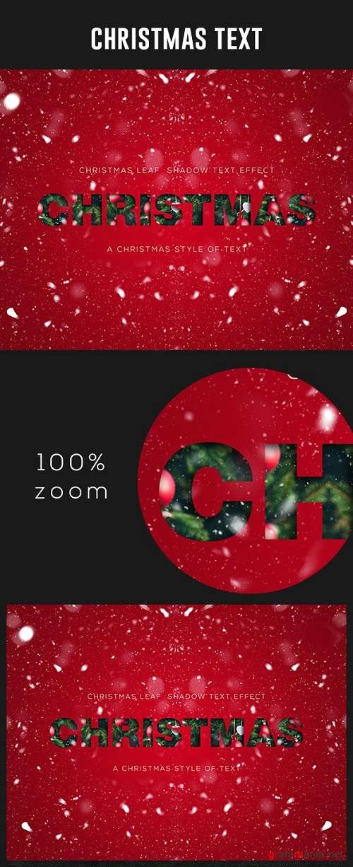Christmas Text Effect - 24923621
