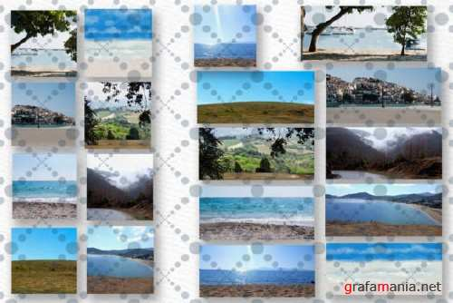 Beach background Holiday landscapes - 4301754