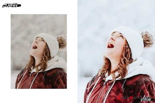 05 Merry Xmas Photoshop Actions, ACR and LUT presets - 386558