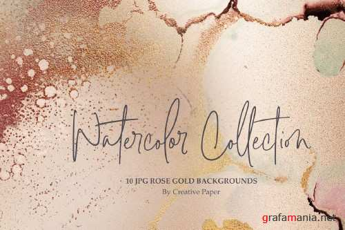 Gold Foil Ink+Watercolor Christmas - 3430948