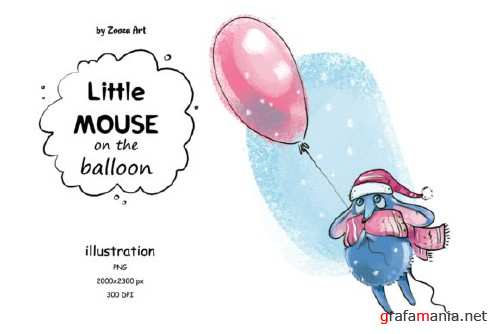 Little Mouse on the Balloon