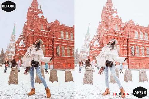 Icy Xmas Photoshop Actions And ACR Presets, instagram modern - 392420
