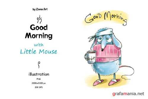 Good Morning with Little Mouse