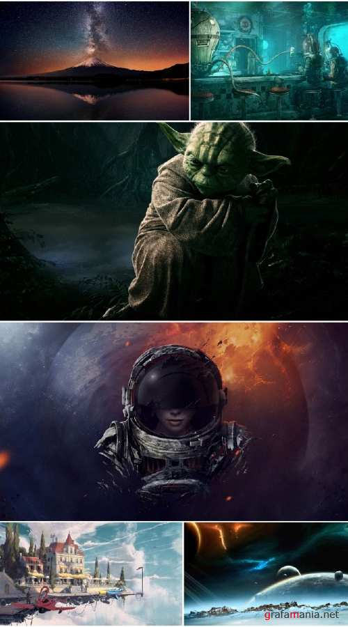Sci Fi collection wallpapers (Pack 7)
