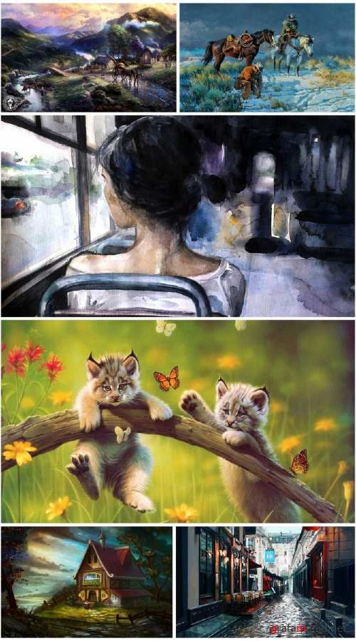 Beautiful painting Art collection