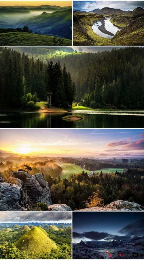 Beautiful landscapes HD collection 9