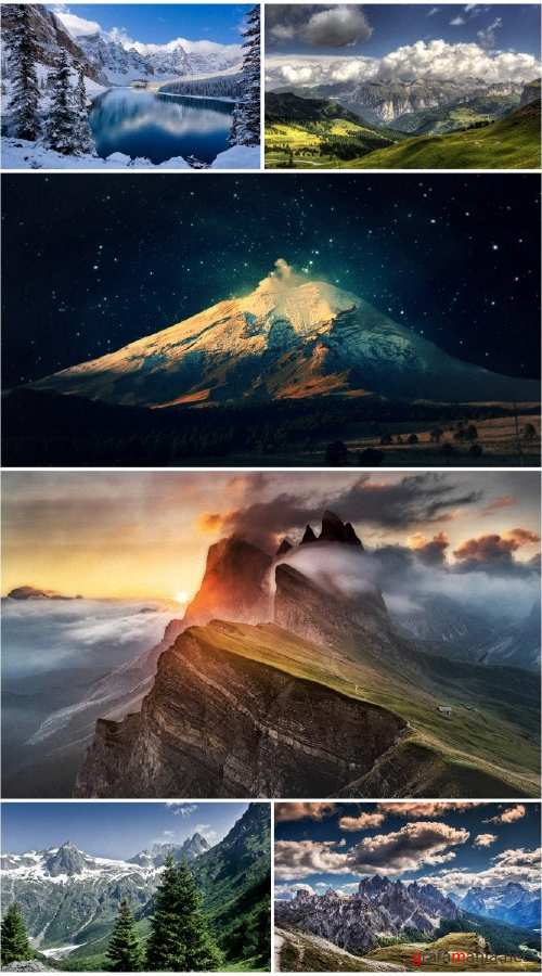 Landscapes Mountains (Pack 71)