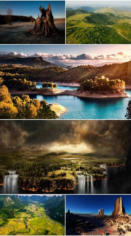 Beautiful landscapes HD collection 11