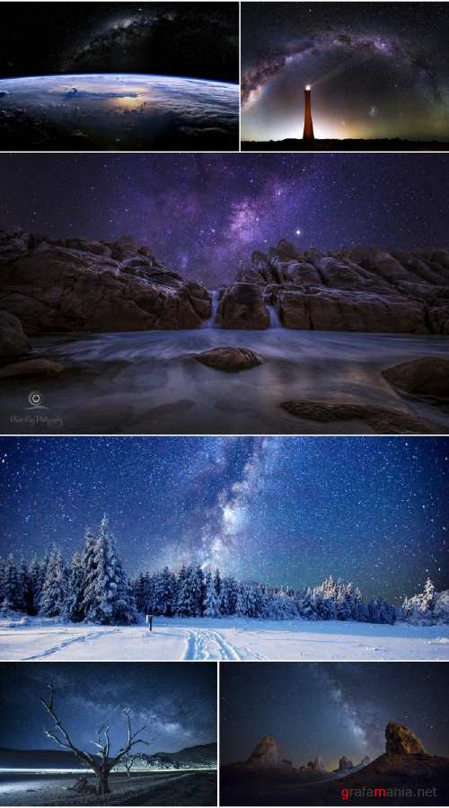 Sci Fi - Milky Way wallpapers collection