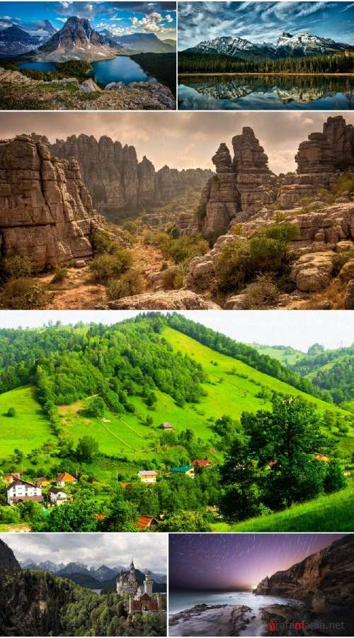 Landscapes Mountains (Pack 78)