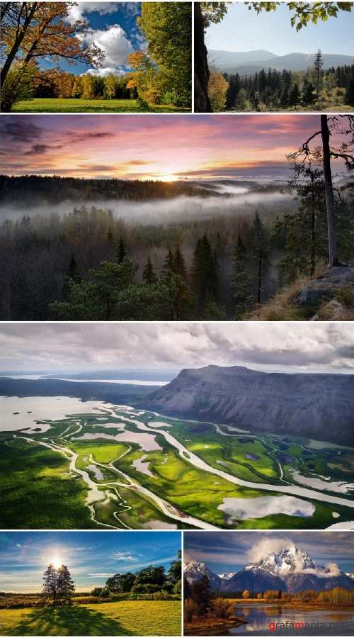 Beautiful landscapes HD collection 17