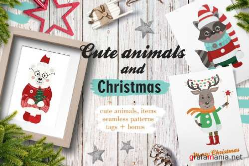 Cute animals and Christmas - 3308064