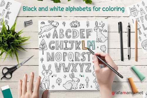 ABC: Alphabet Posters Pack 3994644
