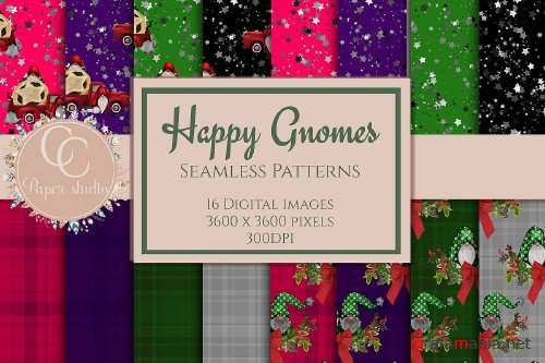 Happy Gnome paper pack - 407020
