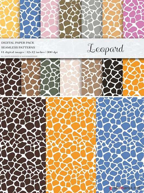 Leopard Seamless Patterns - 4415204