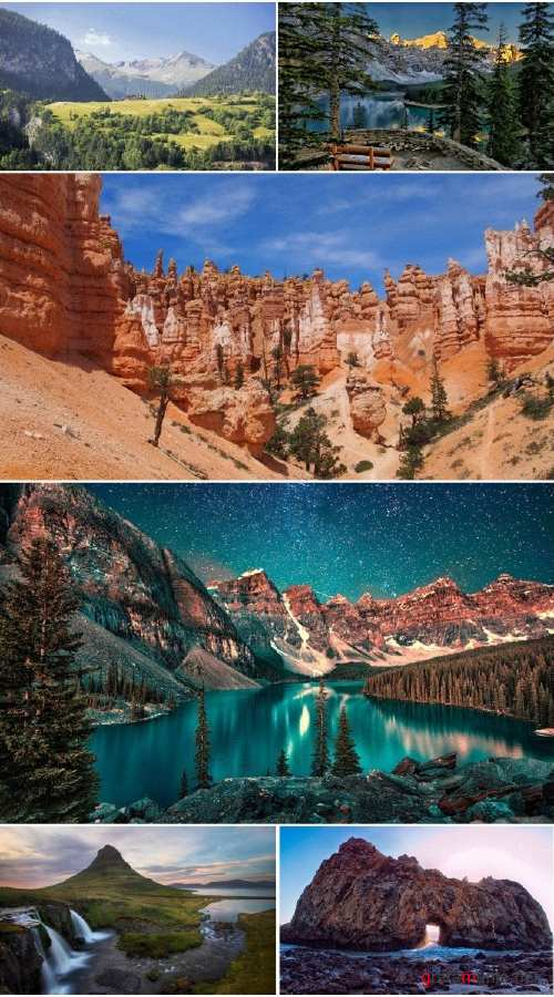 Landscapes Mountains (Pack 79)