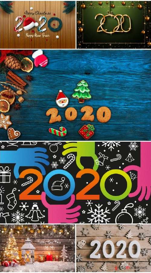 New Year 2020 collection wallpapers No. 2