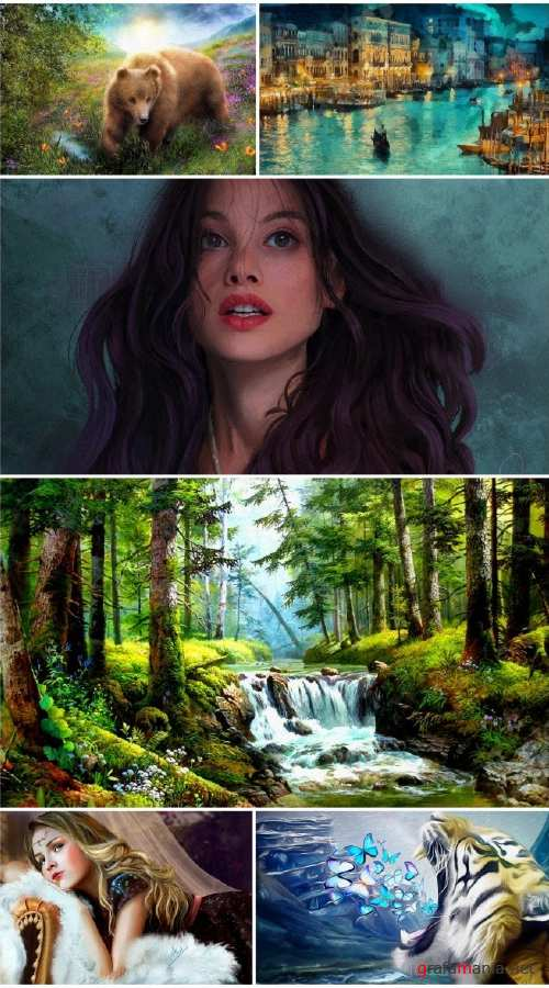 Beautiful painting art collection 6