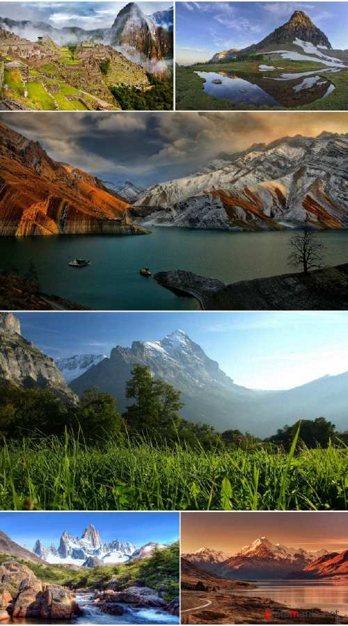 Landscapes Mountains (Pack 84)
