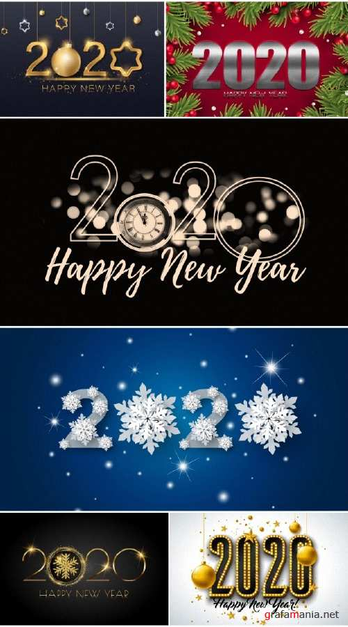 New Year 2020 collection wallpapers No. 3