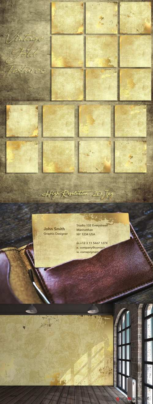 Vintage Gold Textures - 2396982